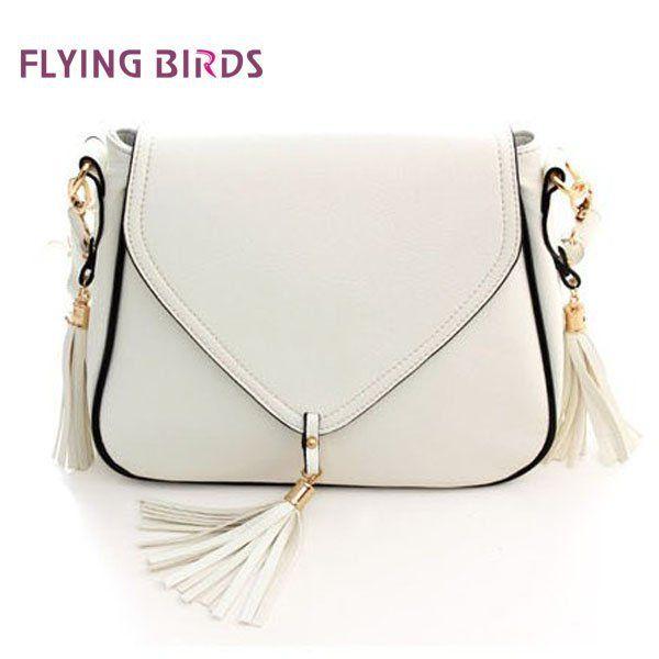 BUENO 2013 New Free Shipping Hot Fashion Tassel Shoulder Bag PU leather Women Handbag Messenger Bags WQ0619 $20.80