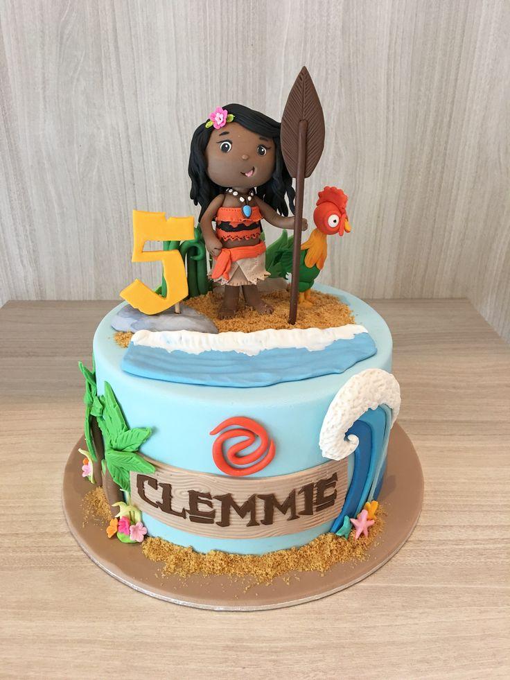 Moana Cake Moana Theme Cake Birthday Cake Hawaiin Cake