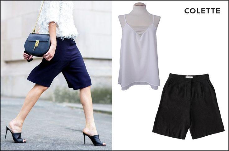 Las BERMUDAS son tendencia este verano!  Propuesta Colette con prendas de París  Top > http://www.colettemoda.com/producto/top-tirantes/ Bermuda > http://www.colettemoda.com/producto/bermuda-jacquard/  #colettepalencia #moda #estilo #paris #verano #outfit