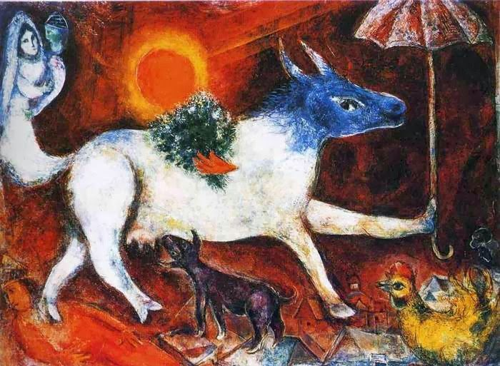 Корова в искусстве - 6 663 картинки. Поиск Mail.Ru (Andre Breton)