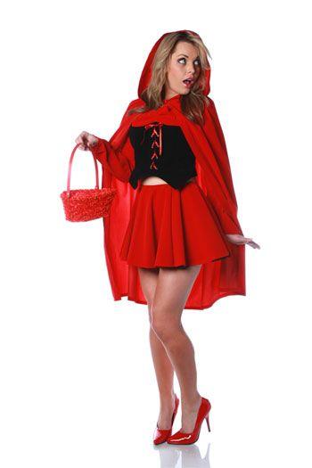 Sexy Rotkäppchen Kostüm Gr. XL 40/42