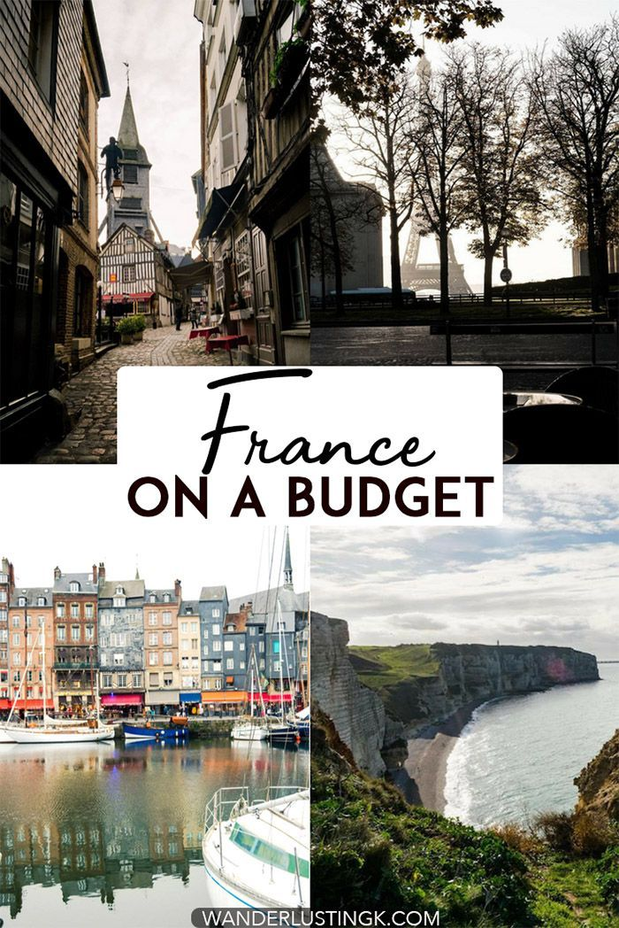 Visiting France on a budget? Budget travel tips for France, including how to find cheap hotels in France and affordable food in France. #France #Travel #Paris #Europe #Budgettravel
