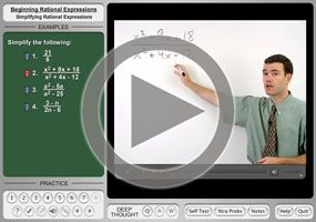 Simplifying Rational Expressions on MathHelp.com