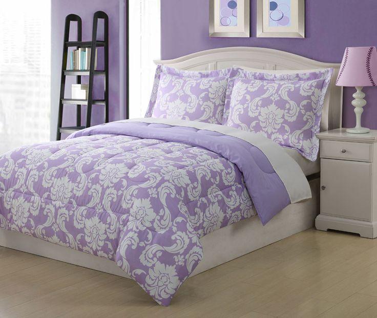 191 best bedding images on pinterest bedrooms home and beautiful bedrooms - Purple Comforters