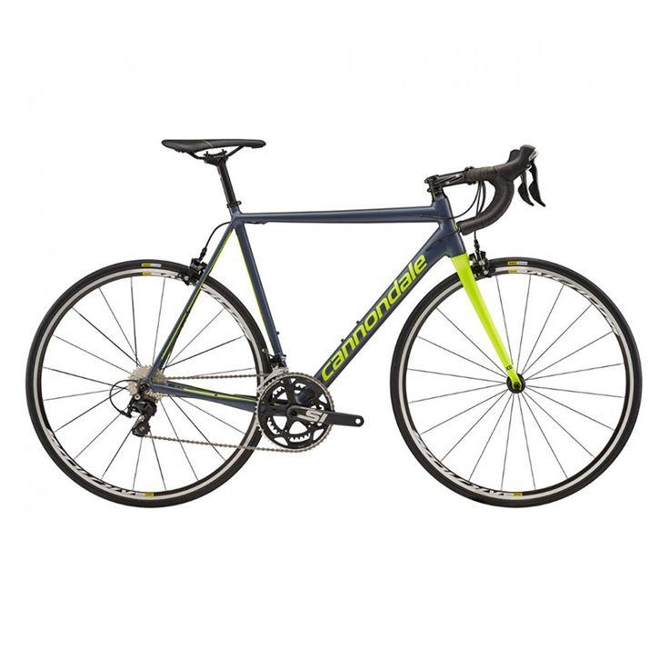 CANNONDALE  BICICLETA ADULTO CANNONDALE CAAD12 105 700C SLATE 2018  La CAAD12 es la bici de los puristas, es más liviana, más rígida y mucho más suave que muchos cuadros de carbono, esta bicicleta de aluminio es la más sofisticada y de más alto rendimiento jamás creada empleando este material. En pocas palabras es la elección de los que realmente saben.  $1.149.000  Encuéntralo en la tienda Intercycles