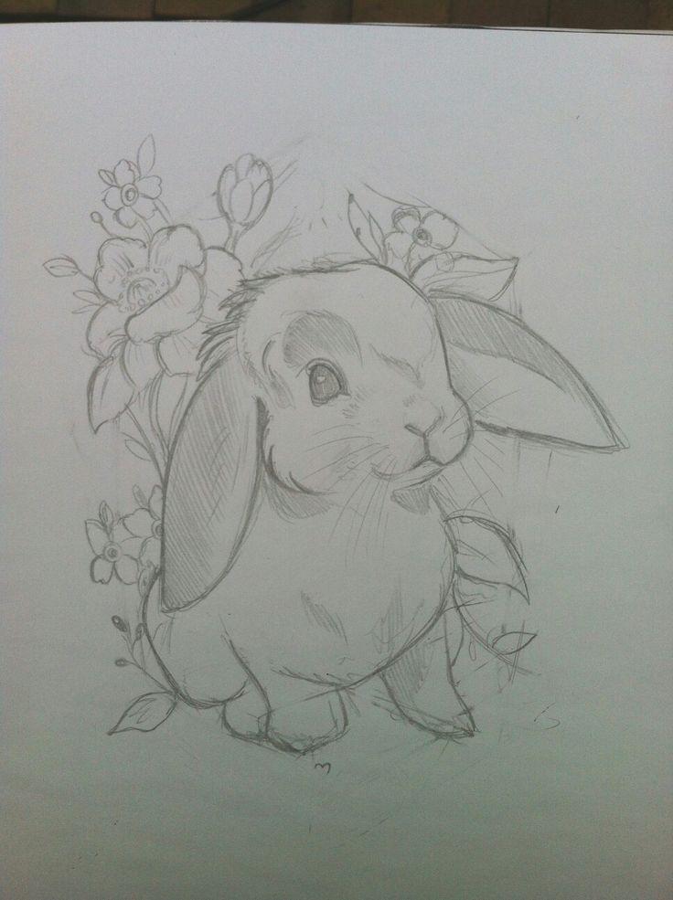 Hase Zeichnung – #Hase #tekenen #Zeichnung