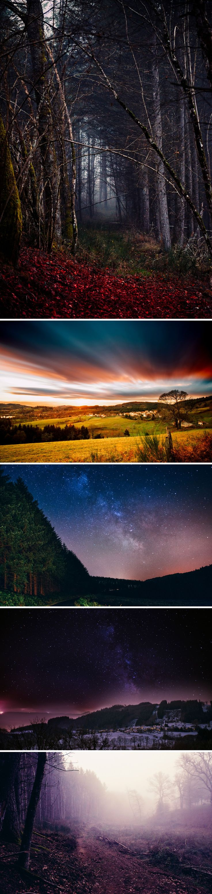 Montagne Thiernoise - Around Thiers, Central France - Livradois Forez - Zephyr & Luna photograhy