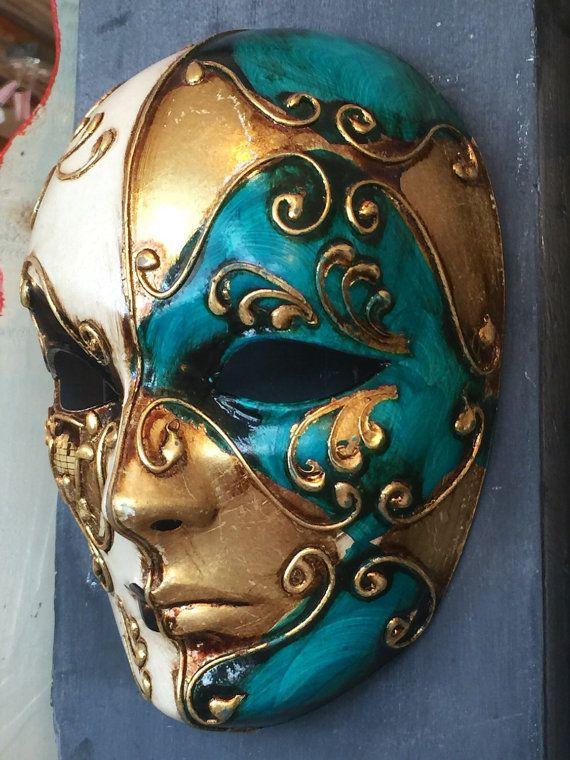 Venetian Carnival Mask maschere Mardi Gras by PiccadillyPrairie
