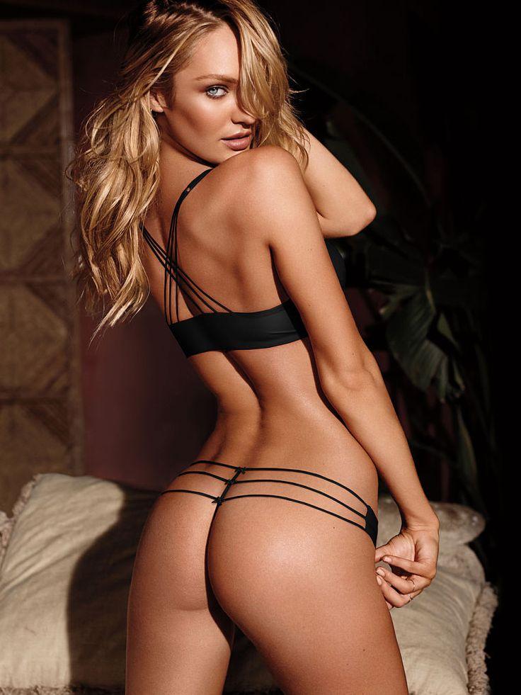 Britt's inspiring lingerie. Strappy V-string Panty by Very Sexy @Victoria's…