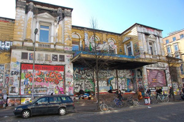 Rote Flora - This contentious squat has stood through fire, violence, and government intervention as a hotbed of leftist protest | Atlas Obscura