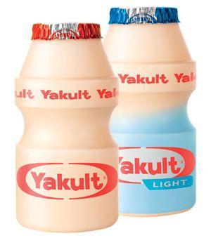 Yakult Original and Yakult Light