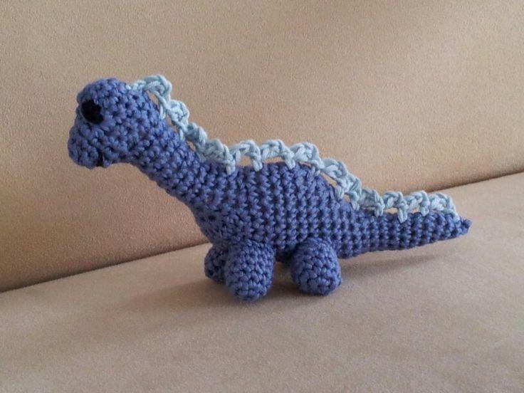 Dinosaurus (patroon van garnstudio.com)