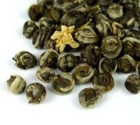#GreenTea - Jasmine Dragon Pearls Tea (Mo li hua zhu)