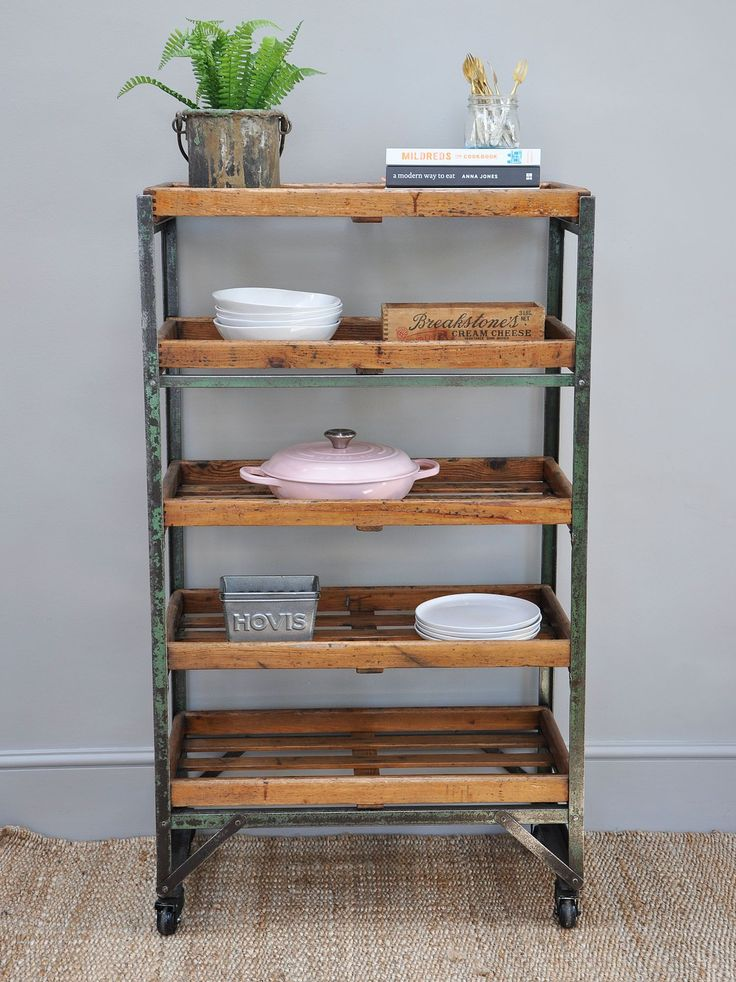1940's English Shoe Trolley - Bring It On Home