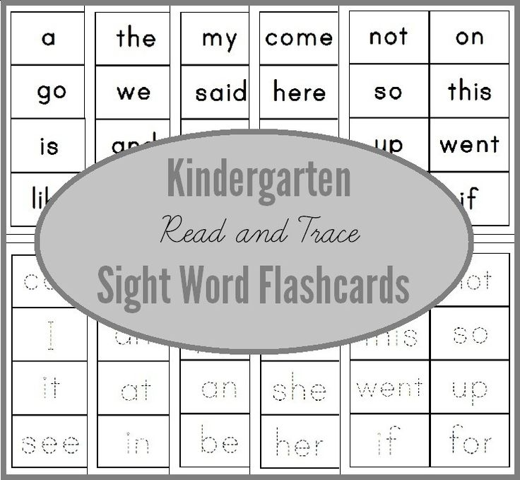 Worksheets Kindergarten Sight Words Printables Flash Card To Print 17 best images about early reading sight word fun on pinterest read trace flashcards for kindergarten you can use these to write