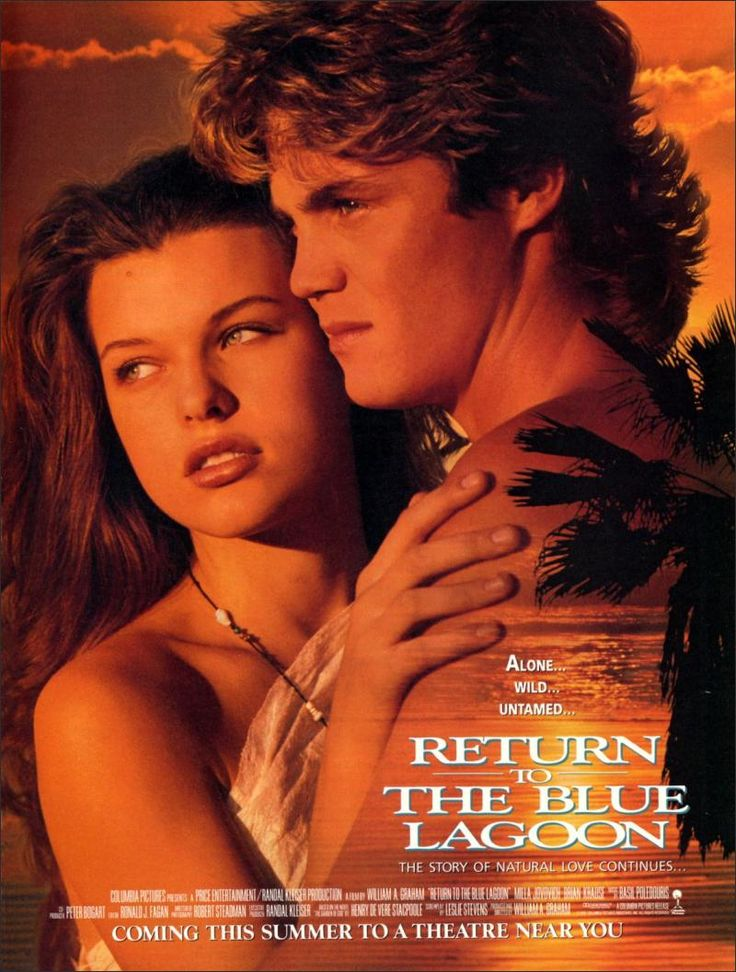 Return to the Blue Lagoon Movie Poster (1991)