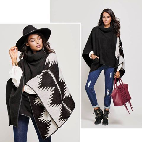 40f3be1a2 Trend Alert: The Pullover Poncho from mark is here and you've just gotta  have it!   AVON CANADA REPRESENTATIVE: Brigitte Giunta   Fashion, Poncho  sweater, ...