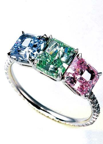 Harry Winston. Love the ring. Great idea to put my and my 2 sons birth stone!