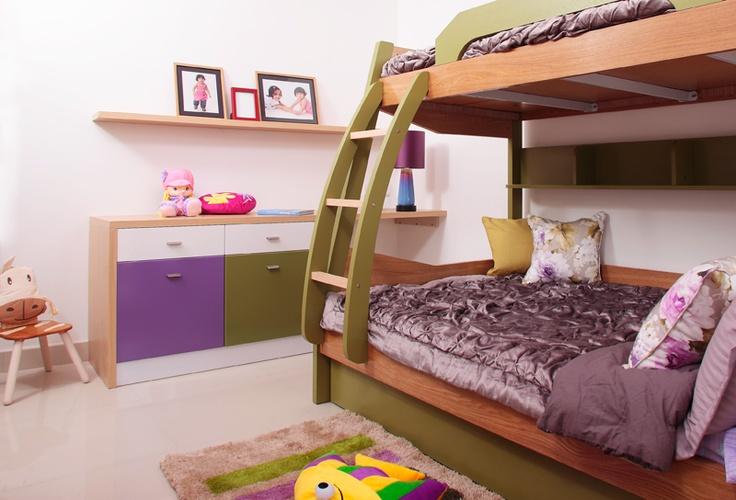 Kids Bunk Bed Amp Toy Storage Purva Highlands Savio And
