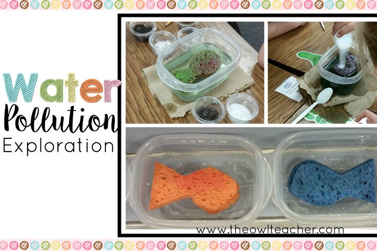 "For Earth Day, I had my students explore water pollution through the Freddie the Fish Activity.  There are many variations of this on the internet, but I created my own adaptation of it. First, I created the ""water environments"" using a reusable plastic bowl container and a sponge cut in… Continue Reading »"