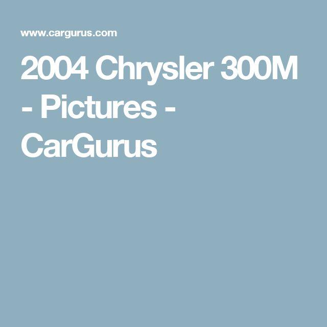 2004 Chrysler 300M - Pictures - CarGurus