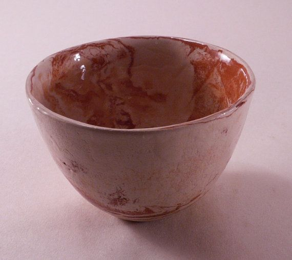Xtra light handmade ceramic bowl - weight similar to porcelain