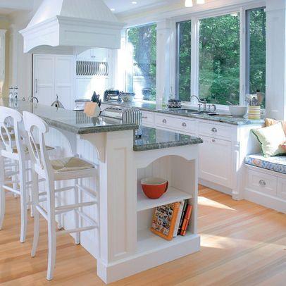 Counter height kitchen window