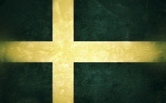 nicht so schöne Schweden Flagge