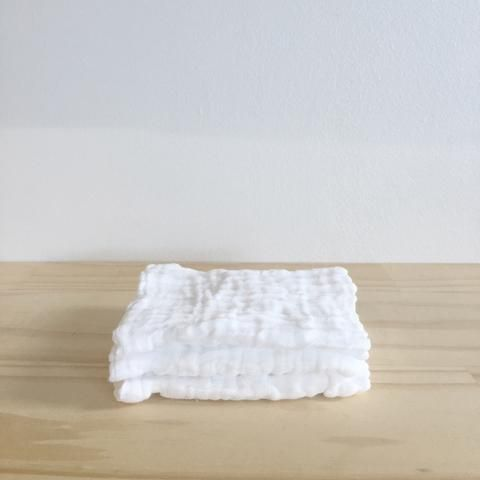 Muslin Face Cloths - Set of 3