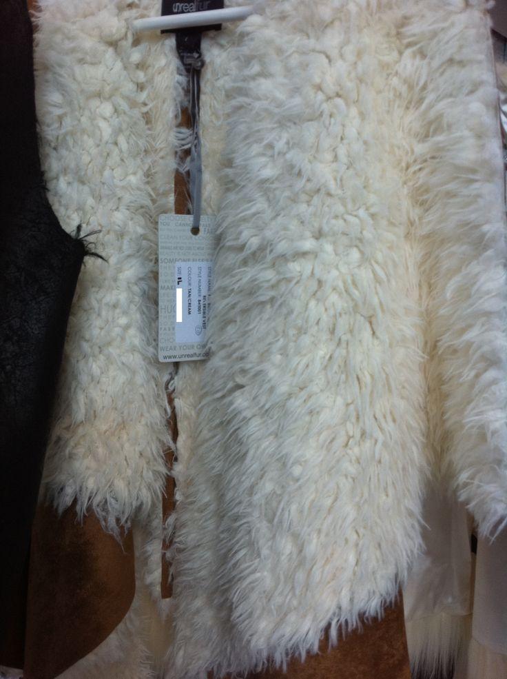 Fur enough reversible vest