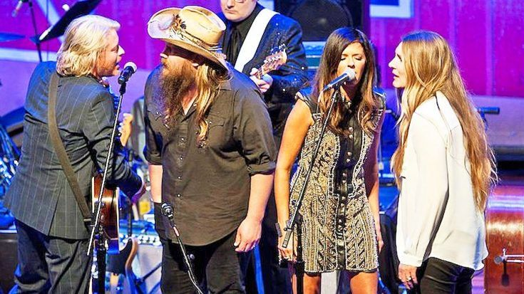 Chris Stapleton & His Wife Morgane Join Little Big Town For Intoxicating 'Elvira' | Classic Country Music Videos