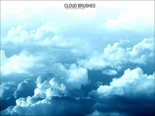 Nature has always been an inspiration source for web and graphic designers.Trees,blue sky,clouds etc. are the common elements for nature themed designs.In today's post,we have gathered free cloud brushes for photoshop.Clouds can add a dramatic or abstract effect to your pieces.You can also use these cloud brushes to add a nature looking to your design projects.The below cloud brush sets are in high resolution and all are free to download.