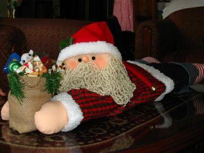 Las Fiestas Llegaron Ya!: Muñecos Navideños para decorar la casa