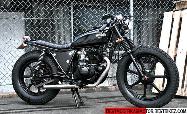 Modifikasi Kawasaki Binter Merzy Bergaya Jap Style