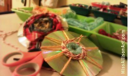 Weaving from Miss Allison Art