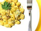 Ricetta Gnocchetti allo zafferano con funghi porcini da Contemporaneofood - Petitchef