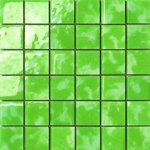 #Settecento #Musiva Verde Avocado 4,5x4,5 on grid 28,6x28,6 cm 100435   #Glas on ceramic   on #bathroom39.com at 156 Euro/sqm   #mosaic #bathroom #kitchen