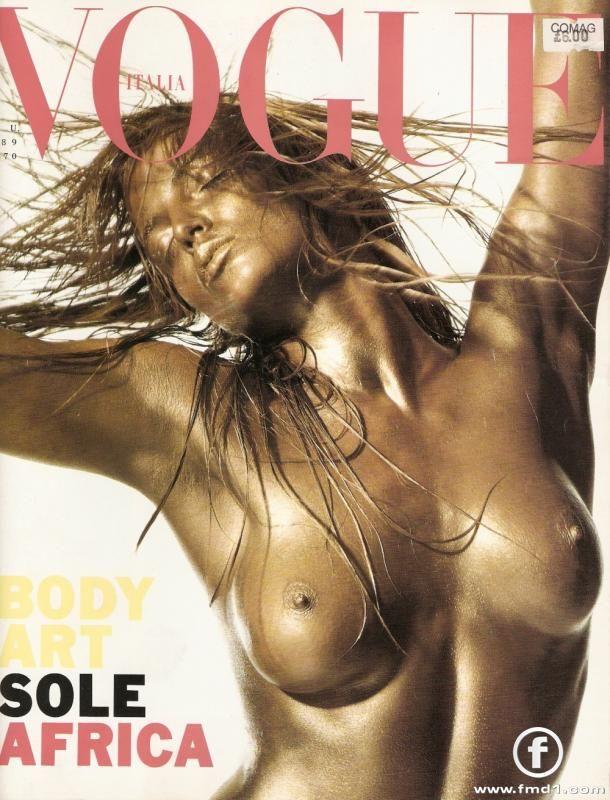 Rachel Williams  -  Vogue Italia 1989