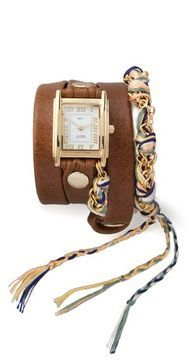 La mer collections Primary Friendship Bracelet Watch at POPSUGAR Shopping