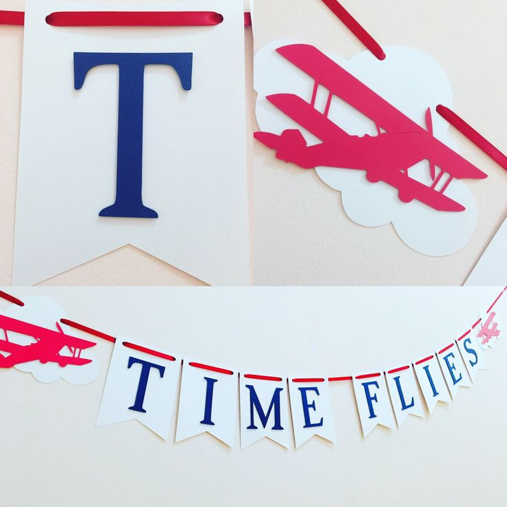 Time flies banner, time flies birthday party, airplane decorations, time flies first birthday, airplane birthday by SassyPartyDecor on Etsy https://www.etsy.com/listing/482970592/time-flies-banner-time-flies-birthday