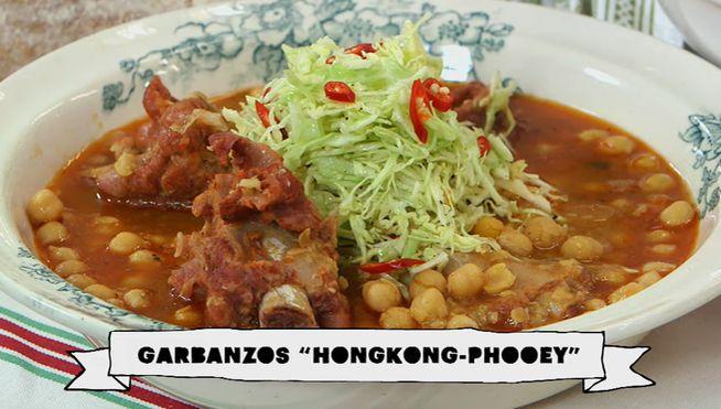 El cocinero de telecinco cocina una original preparaci n - Garbanzos olla express ...