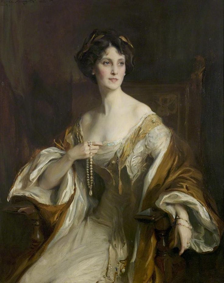 Philip Alexius de László The duchess of Portland, 1912 (by hauk sven)