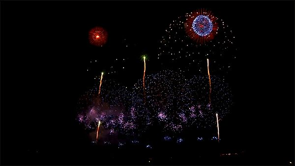 40 Amazing Fireworks Animated Gif Pics - Share at Best Animations