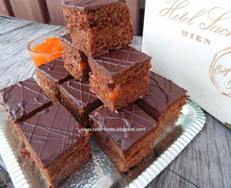 teller-cake: Sacher kocka
