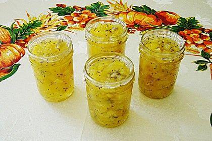 Ananas - Mango - Kiwi - Konfitüre (Rezept mit Bild)   Chefkoch.de