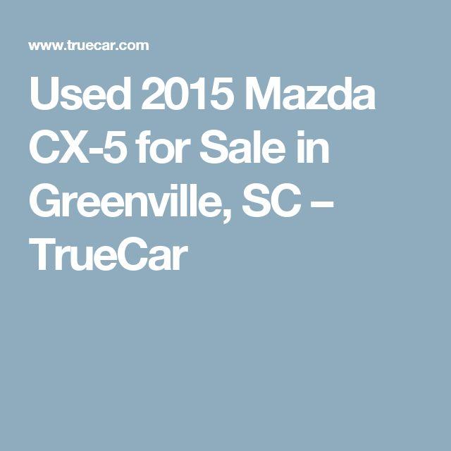 Used 2015 Mazda CX-5 for Sale in Greenville, SC – TrueCar