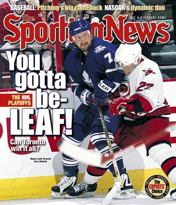 Toronto Maple Leafs Forward Gary Roberts - May 27, 2002