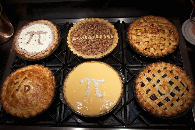 Pie for Pi Day, 2011 by djwtwo, via Flickr