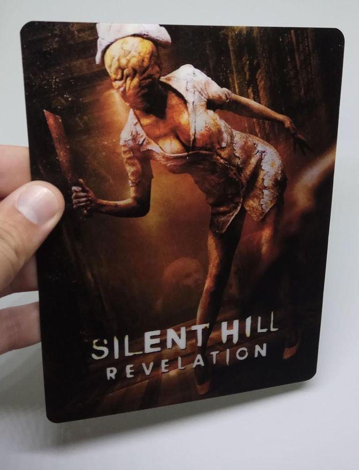 Silent Hill Revelation lenticular cover Flip effect for Steelbook