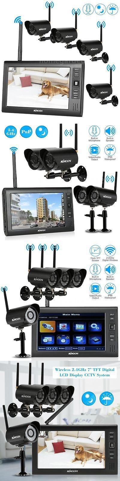 Wireless 66738: 7 Tft Lcd Wireless Cctv Dvr Monitor Home Security Cctv Video System Camera T9v5 -> BUY IT NOW ONLY: $161.15 on eBay!